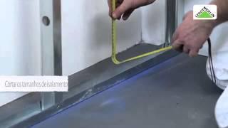 Como isolar paredes periféricas e perimetrais