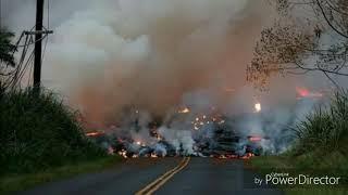 Volcan de fuego en Guatemala entra en erupcion y comienza a cobrar Vidas y daños irreparables
