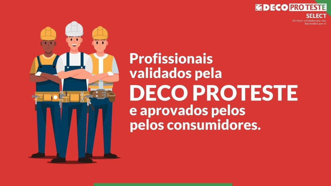 DECO PROTESTE Select - Junte-se à nossa rede de serviços profissionais
