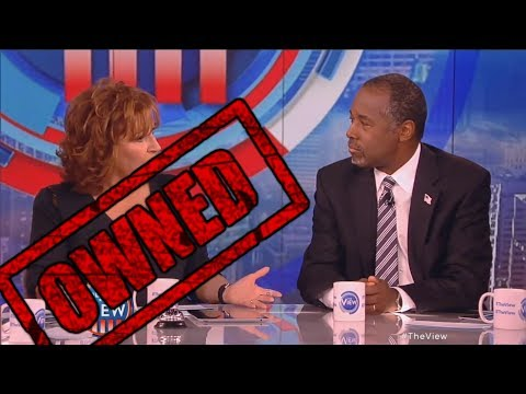 Download Youtube: Ben Carson OWNS The View's Joy Behar and Whoopi Goldberg on The View! - Ben Carson and Joy Behar