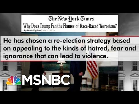 Frank Figliuzzi: Trump Failed By Not Directly Condemning White Supremacists | The 11th Hour | MSNBC