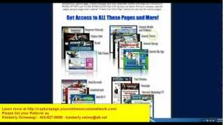 WakeUpNow, LevelOne, MCA, Neucopia, Lyoness plus more MLM Lead Capture Page System