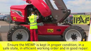 MEWP Inspection, Maintenance and Thorough Examination