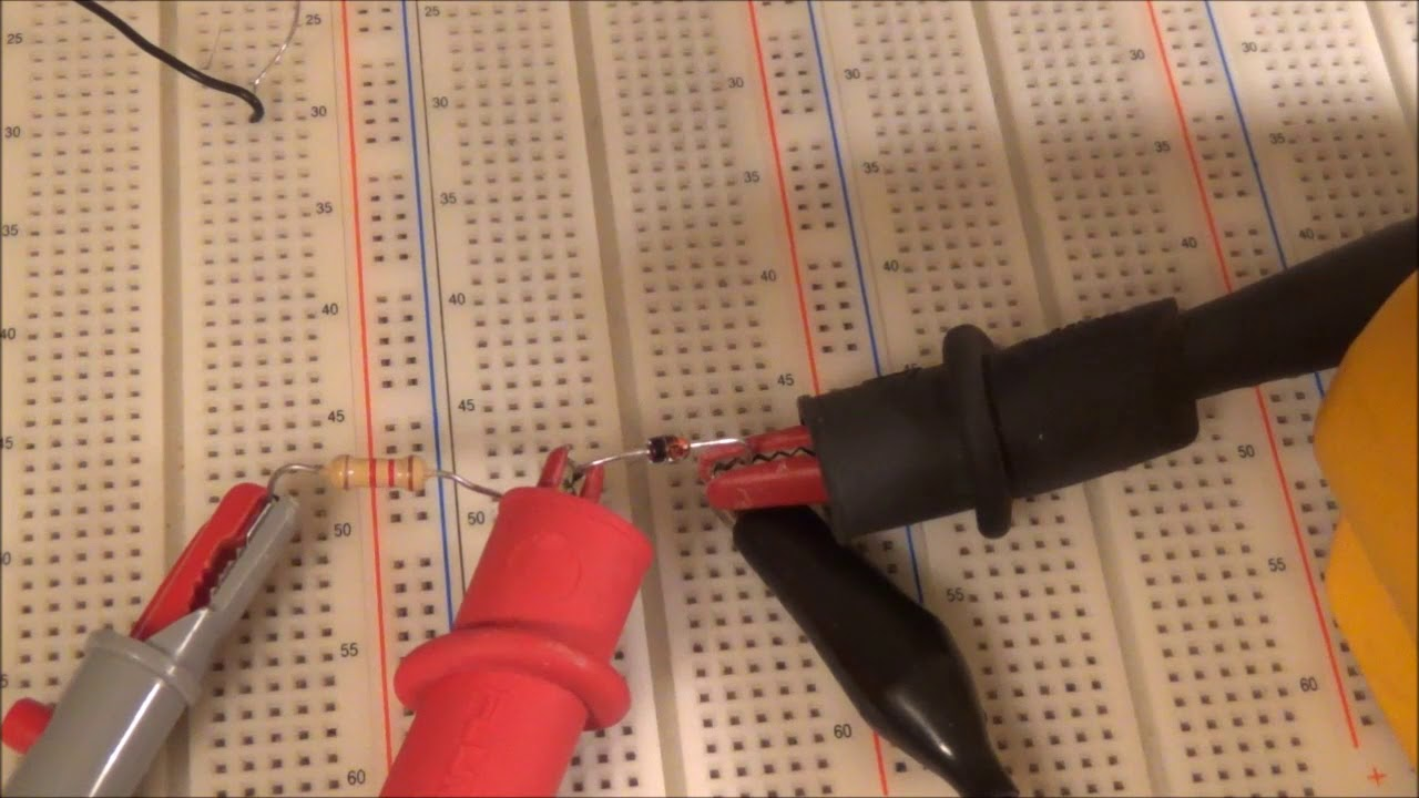 Zener Diode Testing Simple Out Of Circuit Test Youtube Zenerdiodecircuits Circuits