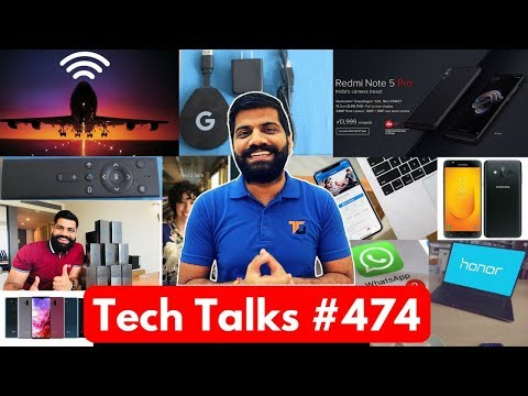 Tech Talks #474 - Redmi Note 5 Pro Pre Order, Honor Magicbook, Dubai Digital Plate, Google WiFi, G7