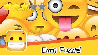 Emoji Puzzle! Walkthrough Match Emoji Recommend index three stars