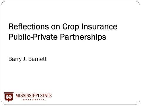 2016 CAPC - Session 1 - Farm Revenue Insurance - Barnett