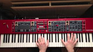 Nord Stage 2 Demo - Call Me Maybe