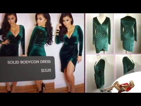 Wholesale Sexy Dresses from Fashion Revolution