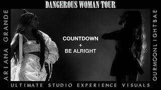 Ariana Grande: Countdown & Be Alright (Dangerous Woman Tour USE Visuals) LINK IN DESCRIPTION