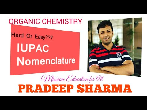 IUPAC Nomenclature Of Saturated & unsaturated Organic compounds , #JEE , #NEET #XII