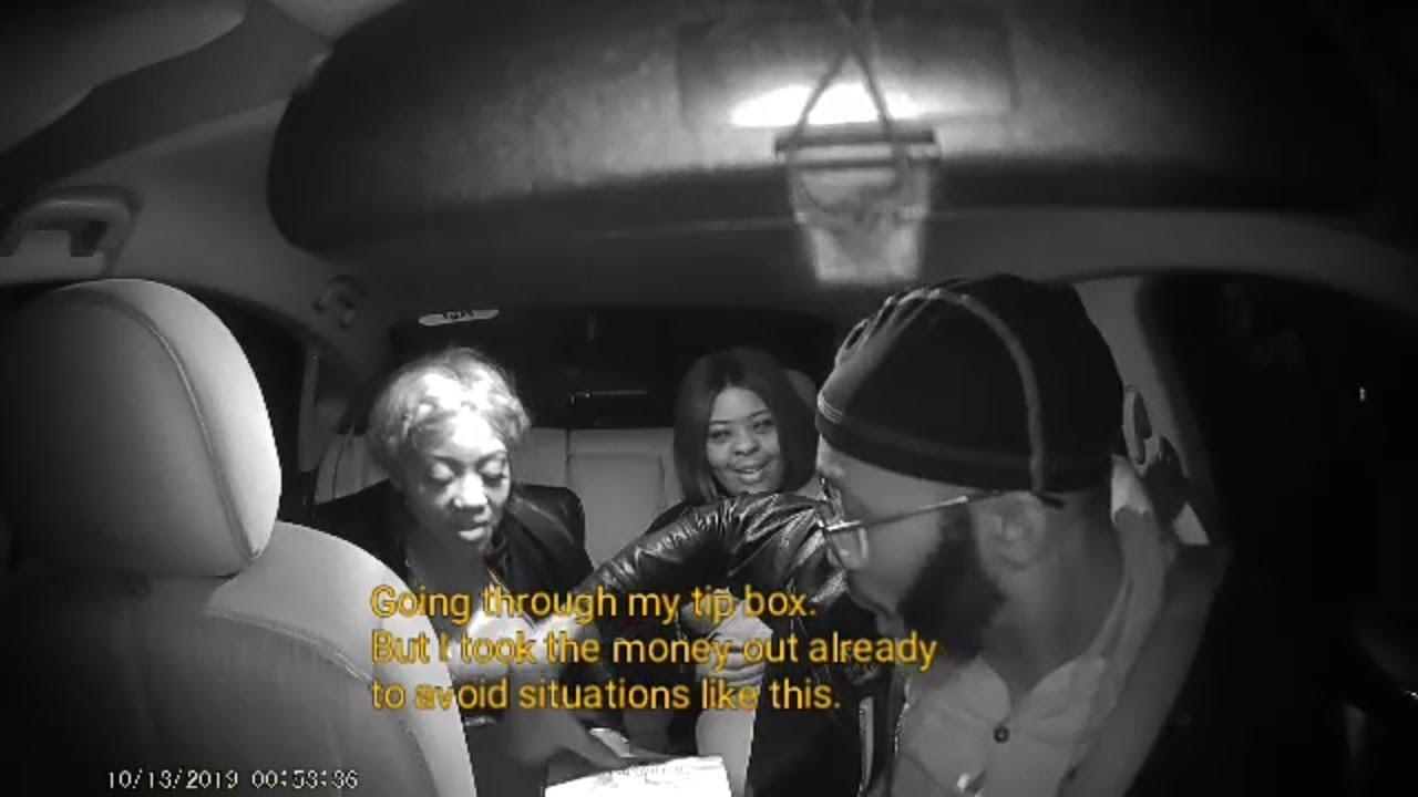 UBERLYFT Driver Kicks Out Disrespectful Passengers