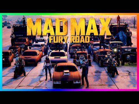 GTA ONLINE MAD MAX: FURY ROAD SPECIAL - ULTIMATE MAD MAX CARS, GTA 5 INTERCEPTOR, GIGA HORSE & MORE!