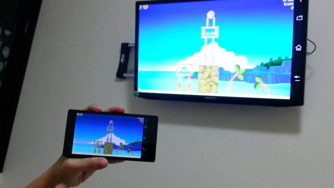 Mirroring Sony Xperia Z Using Netgear Push2tv Ptv3000