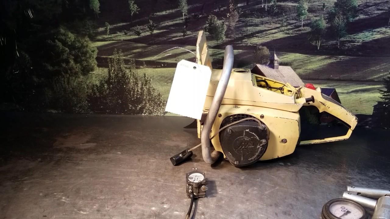 medium resolution of the chainsaw guy shop talk vintage mccullough 10 10 carburetor repair youtube