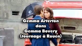 Gemma Arterton et Fabrice Luchini à Rouen dans Gemma Bovery