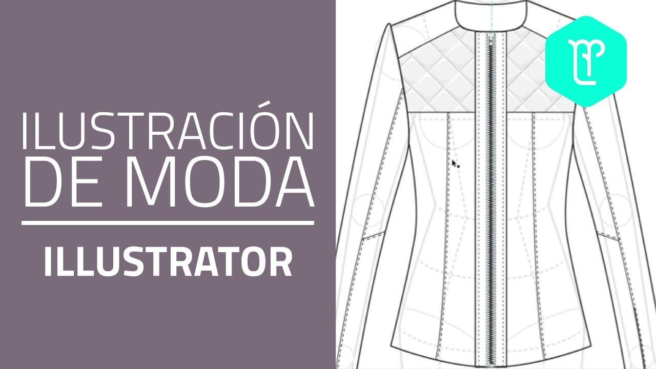 Adobe Illustrator para diseñadores e ilustradores de moda - YouTube