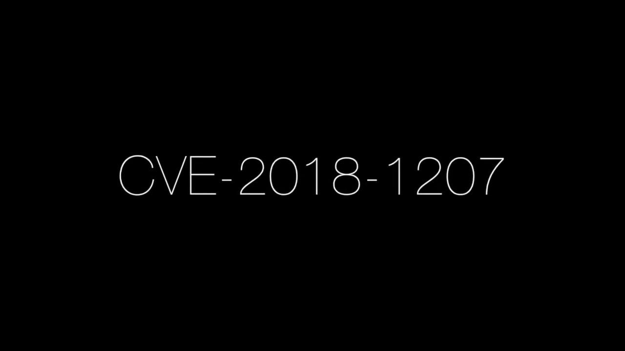 CVE-2018-1207 - - vimore org