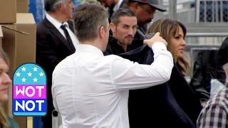 EXCLUSIVE: Gentleman Matt Damon Takes Off His Jacket to Keep His Wife Warm at the Spirit Awards