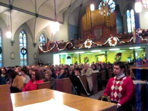 Christmas Eve at IMMACULATE CONCEPTION CHURCH Youngstown Ohio