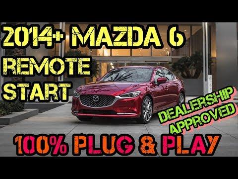 2014+  Mazda 6 100% Plug & Play Remote Start Kit – FULL INSTALL