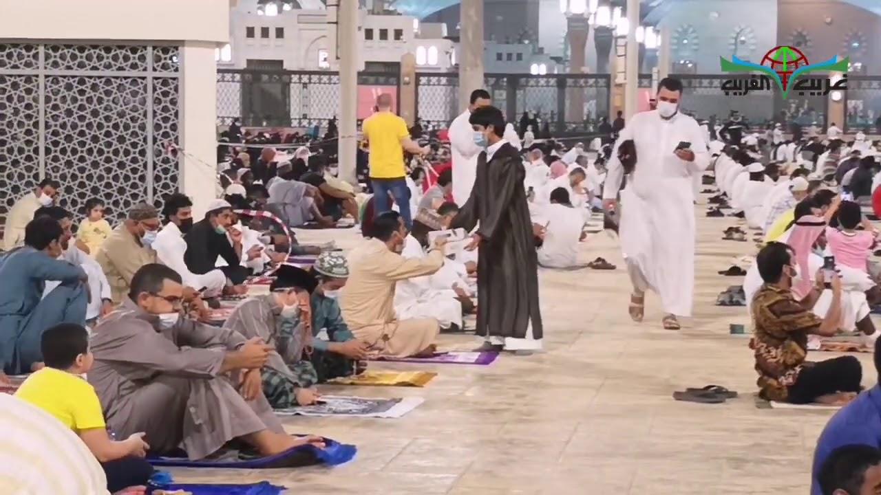 تكبيرات العيد من المسجد النبوي الشريف