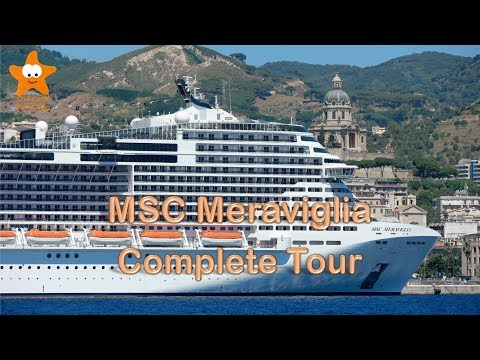 MSC Meraviglia Complete Video Tour UHD 2017 @CruisesandTravelsBlog