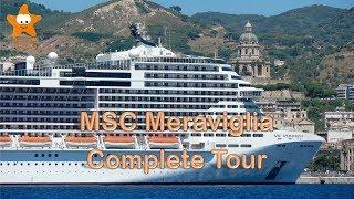 Video panoramica completa della nuova ammiraglia MSC Crociere, la M...