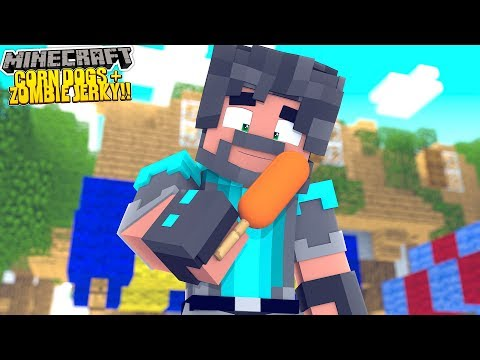 CORN DOGS + ZOMBIE JERKY!! | MINECRAFT ALL THE MODS 3 [#3] thumbnail