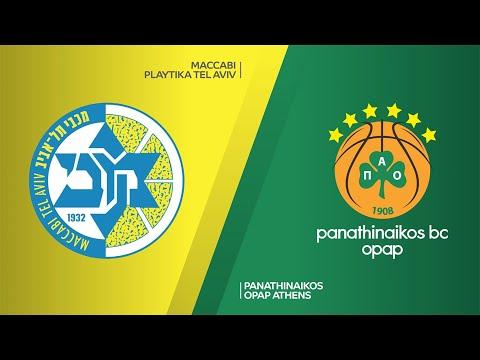 Maccabi Playtika Tel Aviv - Panathinaikos OPAP Athens Highlights | EuroLeague, RS Round 16