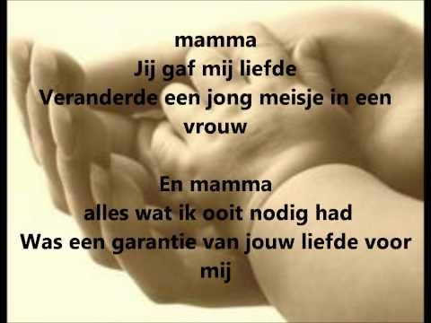 celine dion - mama ( goodbye's the saddest word) vertaalt
