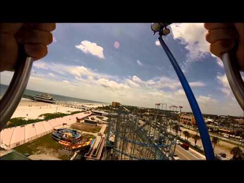 Slingshot Ride at Daytona Beach