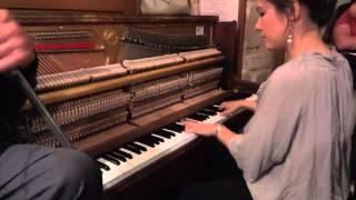 Live Music : Boogie Woogie : 2012 La Roquebrou Festival : Stephanie Trick, Solo Stride Piano