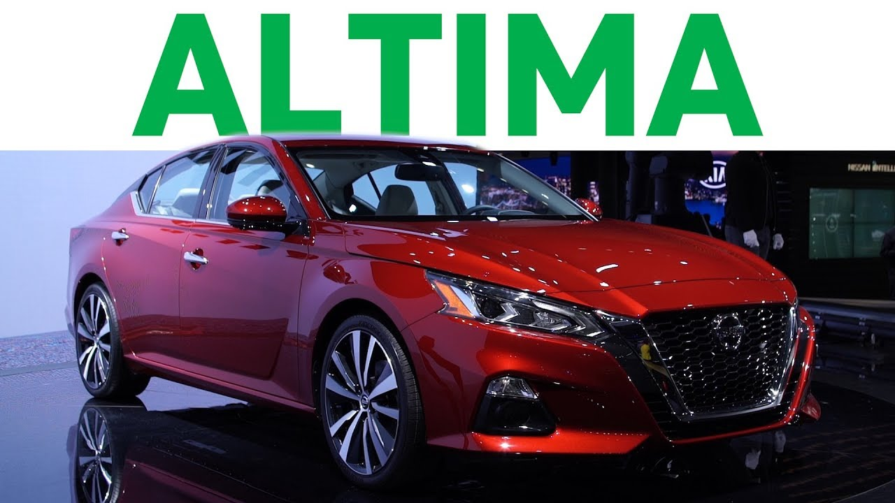 all new 2019 nissan altima debuts at nyias. Black Bedroom Furniture Sets. Home Design Ideas