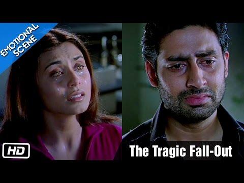 The Tragic Fall-Out | Emotional Scene | Kabhi Alvida Naa Kehna - Abhishek Bachchan, Rani Mukherjee
