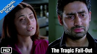 The Tragic Fall-Out | Emotional Scene | Kabhi Alvida Naa Kehna - Abhishek Bachchan, Rani Mukherjee