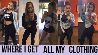 Cute gym cloths My style:  where to get them