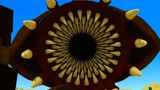 Minecraft Animation - Sandworm / Animacja Minecraft - Piaskowy Potwór