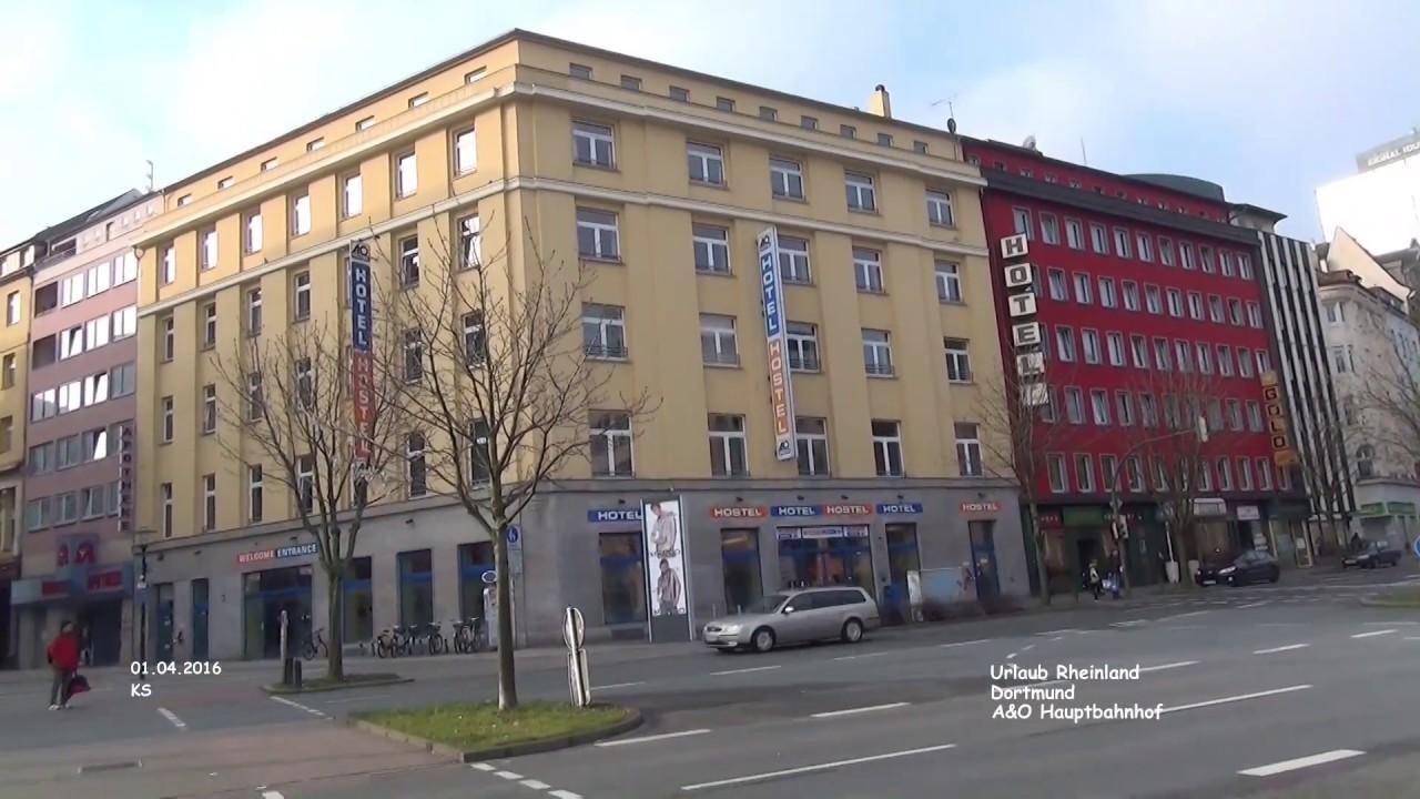 A o hotel hauptbahnhof dortmund youtube for Dortmund bahnhof hotel