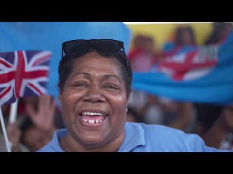 Fiji vs Tonga in Nuku