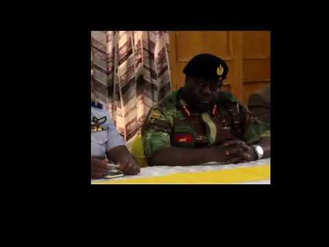 Warning shots: Zim army boss Chiwenga speaks on VP Mnangagwa's dismissal.