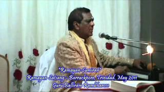 Ramayan Sumiran - Balliram Rambharose, Trinidad May 2011