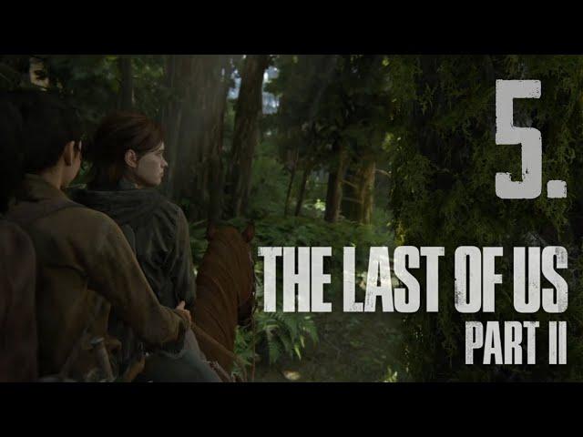 The Last of Us Part II (HUN) Végigjátszás 5. rész | Magyar Felirattal | PS4 Slim HD