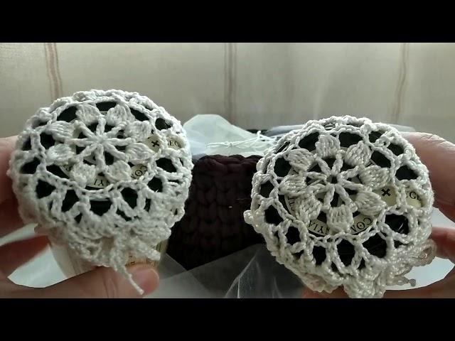 VLOG Montserrat.Muestra de regalo crochet para mujer. Cesta y mermeladas .