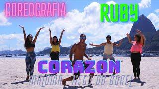 Maluma | Corazon | ft. Nego do Borel | Zumba | Coreo Ruby