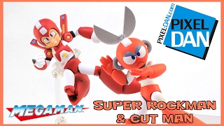 Mega Man Cut Man & Super Rockman 4-Inch NEL Sentinel Action Figures Video Review