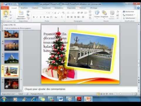 Cr er un diaporama sonoris avec powerpoint 2010 vid o 5 - Ouvrir un powerpoint avec open office ...