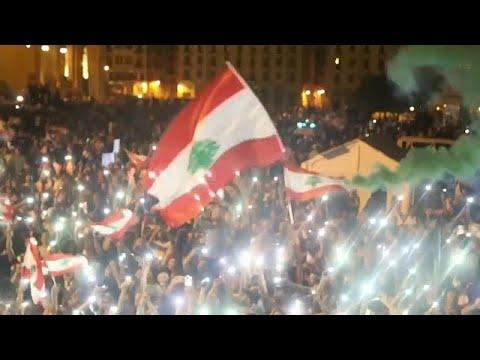 euronews (em português): Milhares protestam contra Governo e crise económica no Líbano
