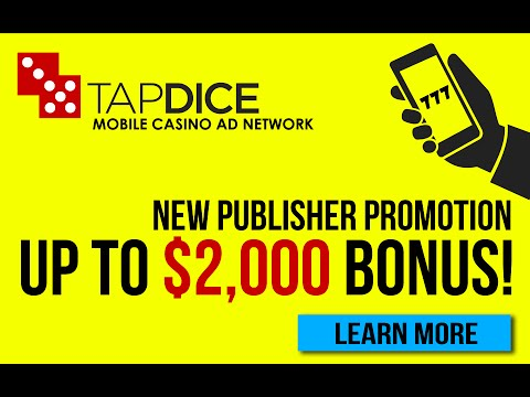TapDice Promotion   Ad's Company only for Casino Games