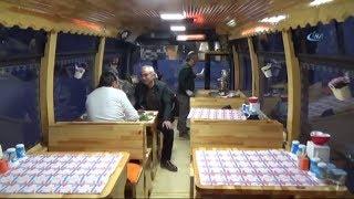Halk Otobüsünü 120 Bin Lira Harcayarak Ciğerci Yaptı